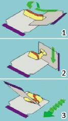 Перемешивание шпатлевки с отвердителем