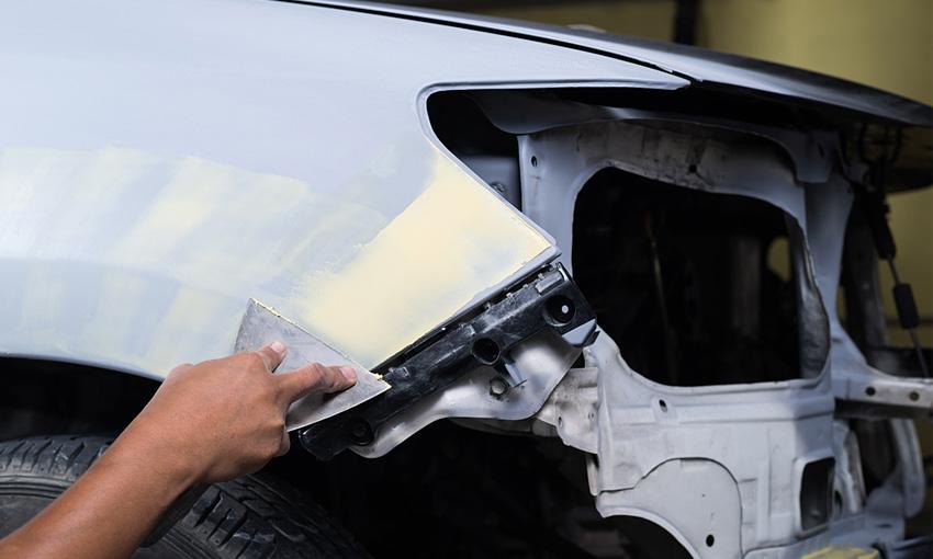 Применение жидкой шпатлевки на автомобиле описание бетоноконтакт кнауф