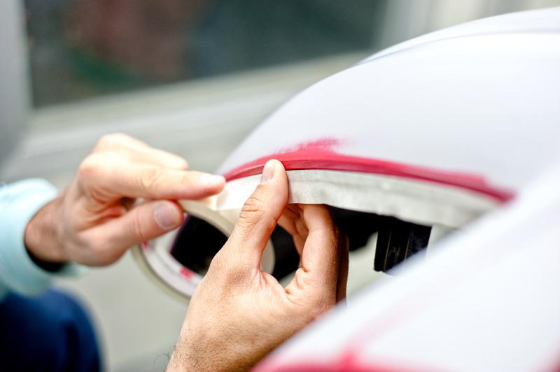 Как оклеить авто перед покраской