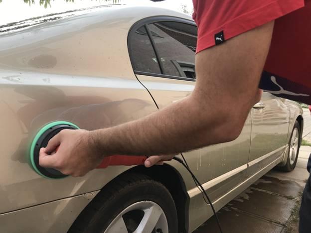Правила полировки машины