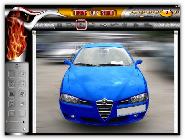 Программа для 3Д тюнинга авто